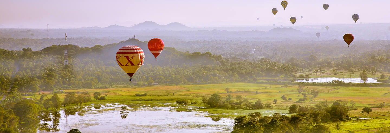 Passeio de balão por Dambulla