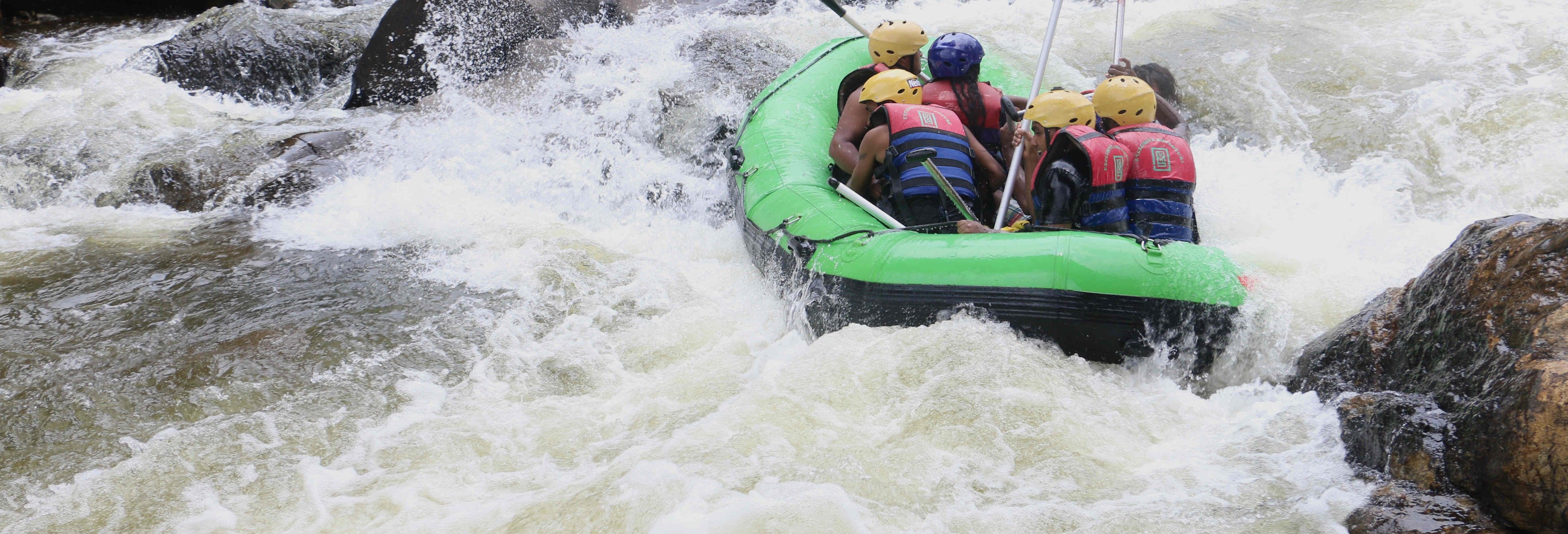 Ruta privada de rafting en Kitulgala