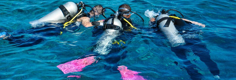 Curso de mergulho PADI Open Water
