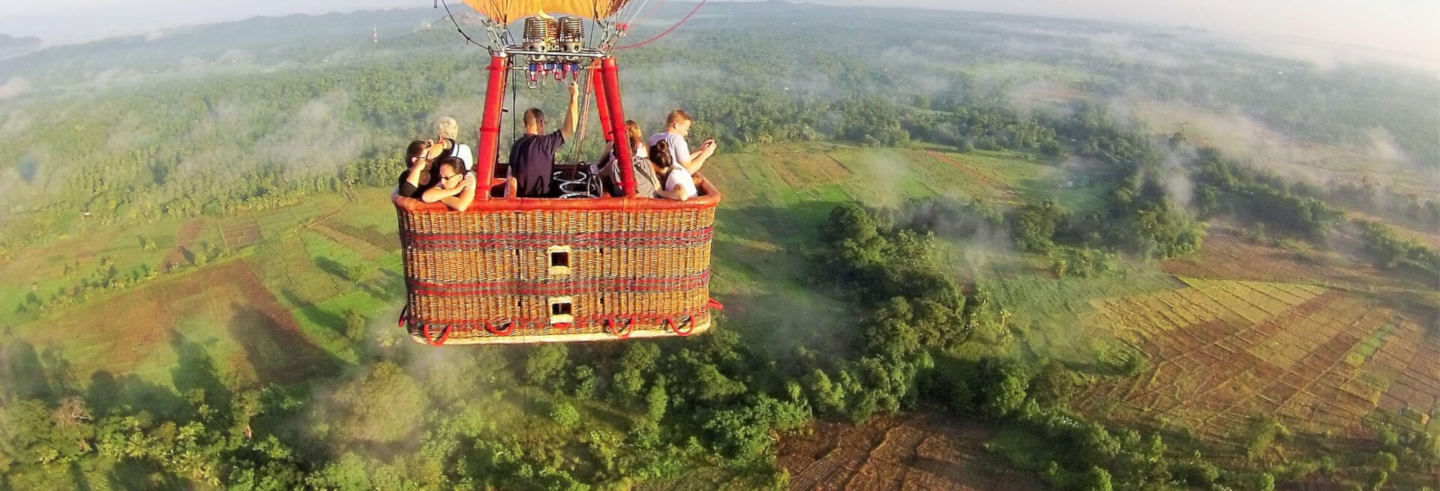 Sigiriya Hot Air Balloon Ride