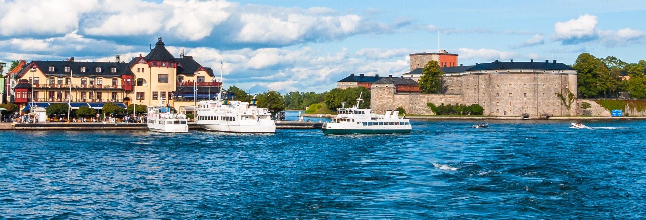 Ferry a la isla Vaxholm