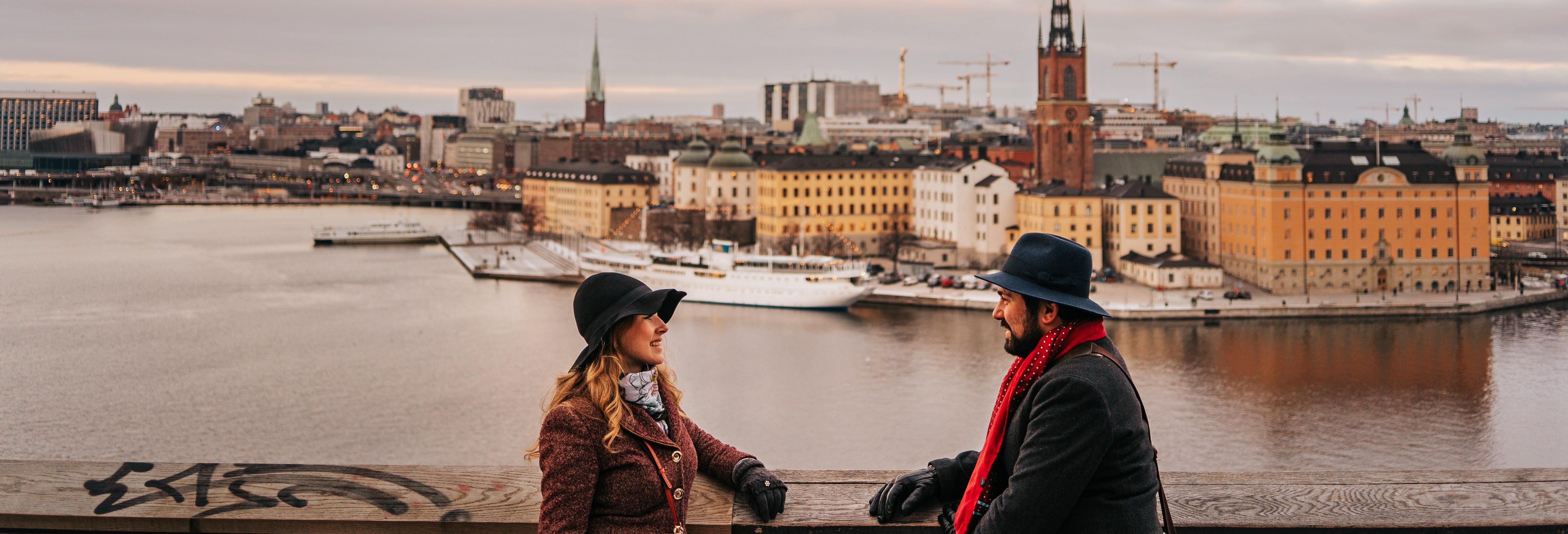 Free tour por los miradores de Estocolmo