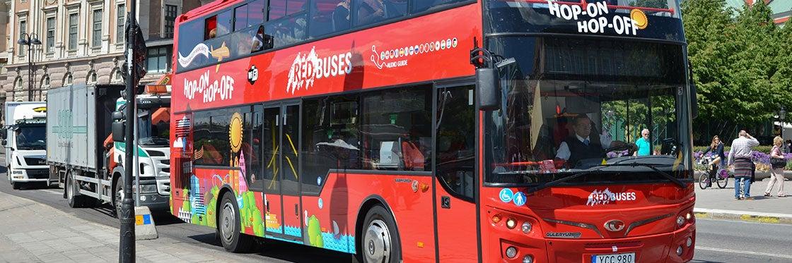 Bus touristique de Stockholm