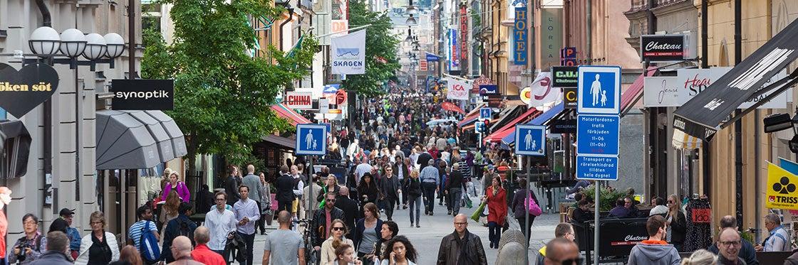 Shopping a Stoccolma