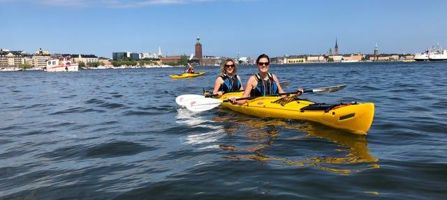 Tour en kayak por Estocolmo