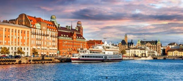 Balade en bateau sur les canaux de Malmö