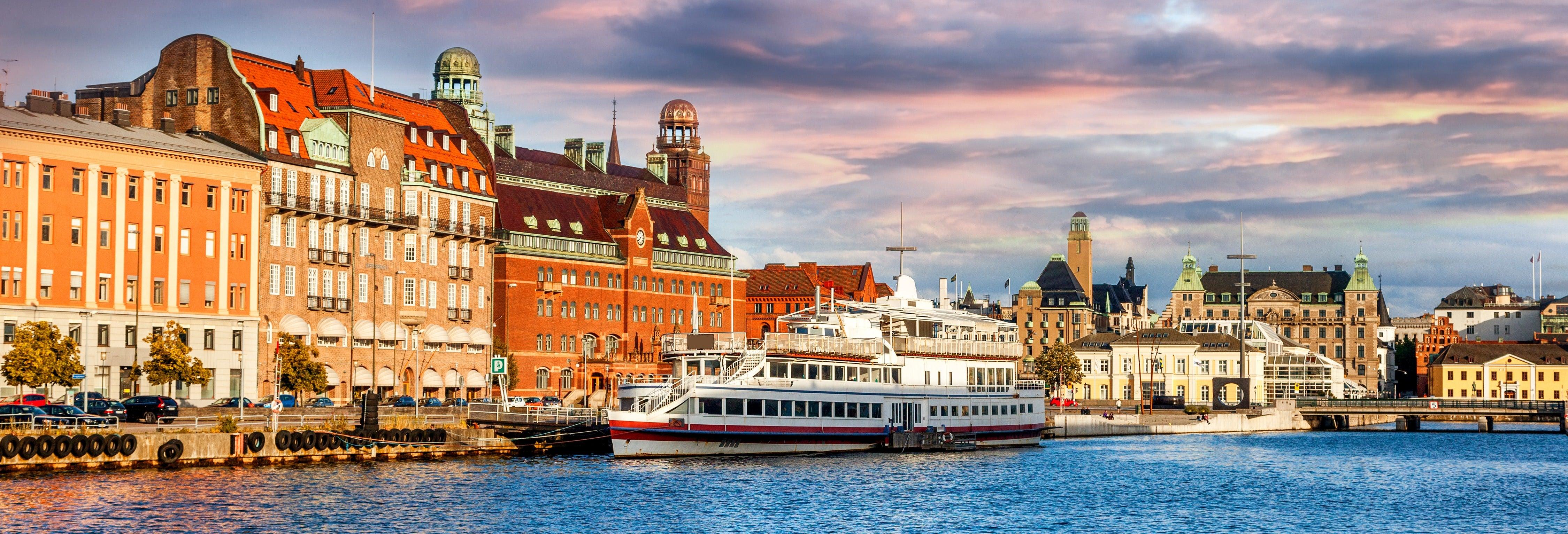 Paseo en barco por los canales de Malmö