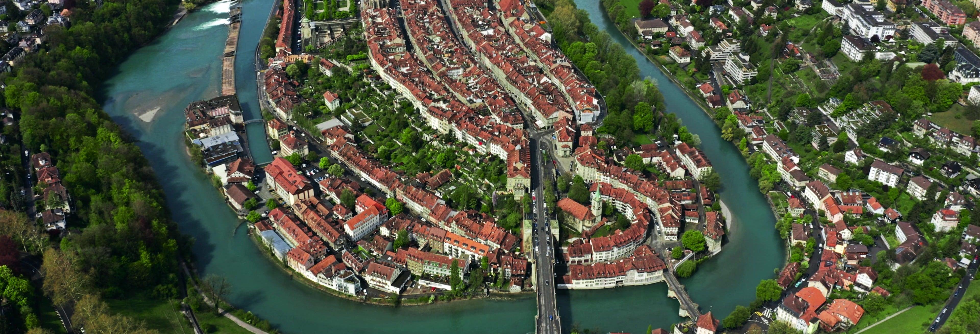 Paseo en helicóptero por Berna