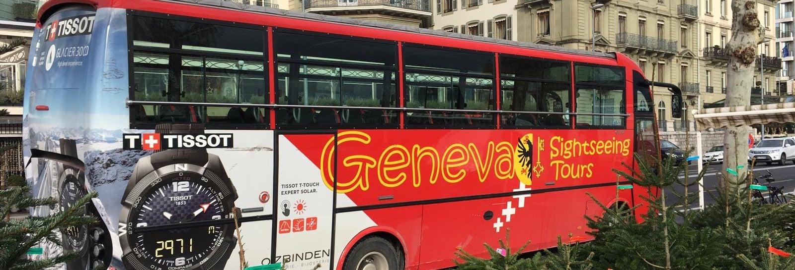 Bus et train touristiques de Genève