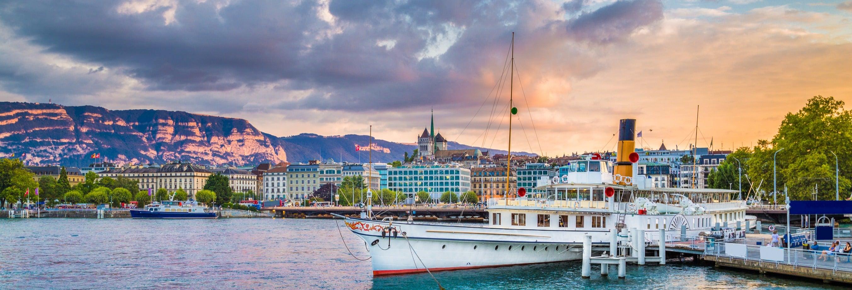 Boat Trip on Lake Geneva