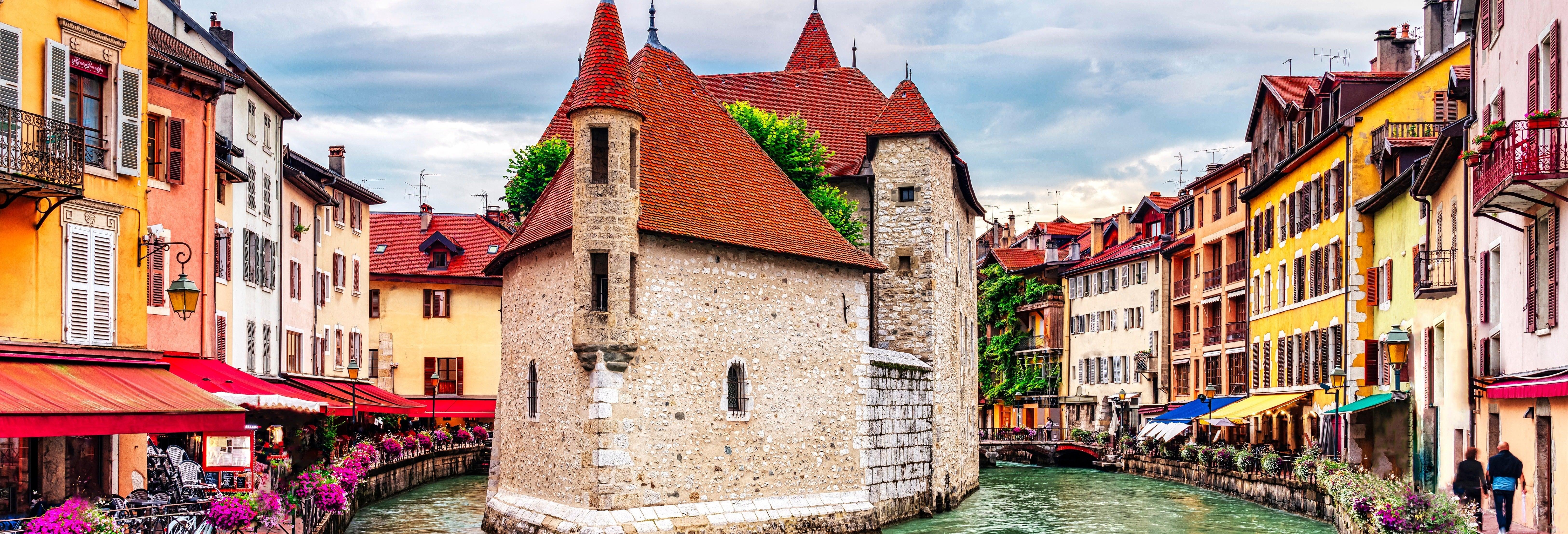Tour di Annecy e Ginevra