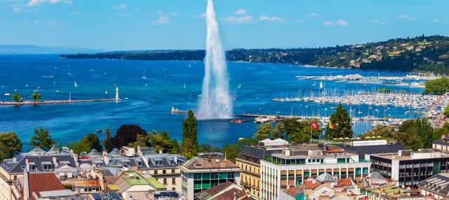 Tour panorámico por Ginebra + Paseo en barco