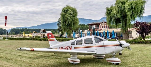 Paseo en avioneta por Lucerna