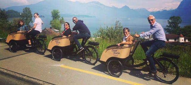 Tour en bicicleta eléctrica por Lucerna