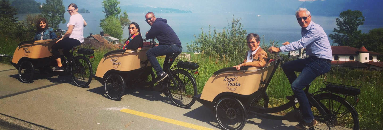 Tour de bicicleta elétrica por Lucerna