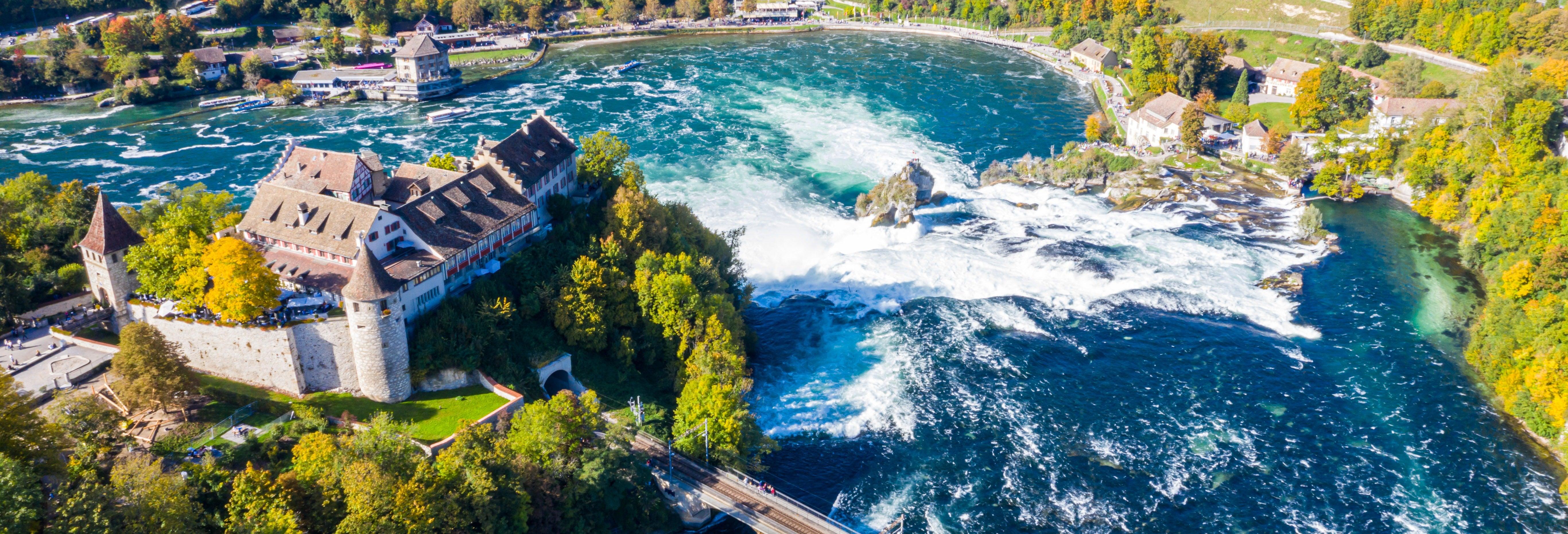 Excursion aux chutes du Rhin