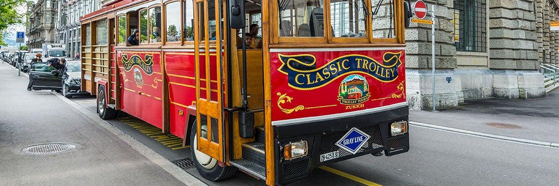 Autobuses en Zúrich