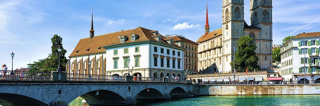 L'antico duomo di Zurigo