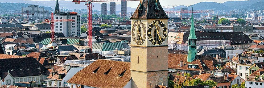 Église Saint-Pierre de Zurich