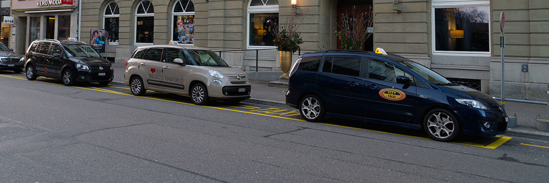 Taxi a Zurigo