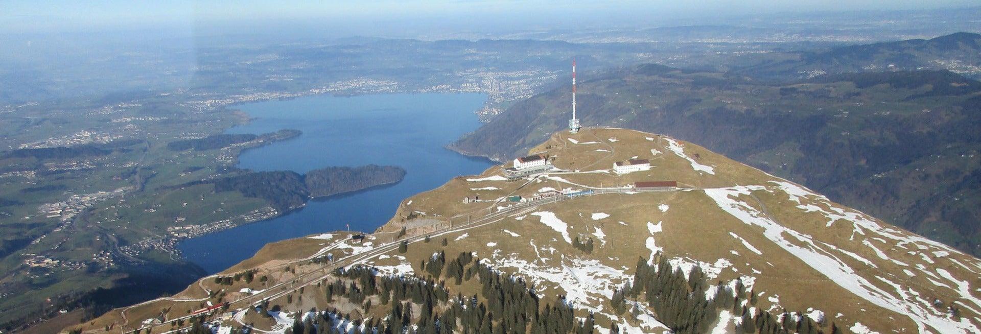 Vol en avion de tourisme depuis Zurich