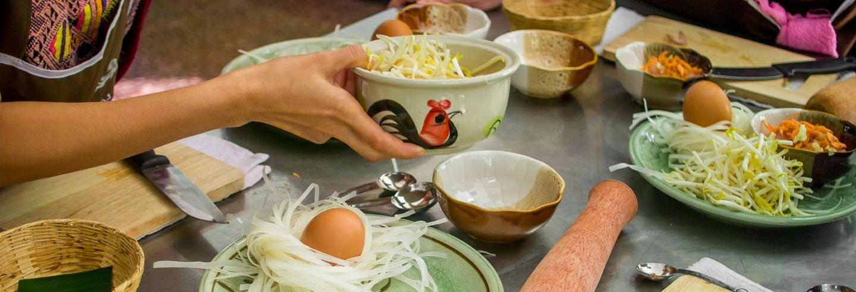 Lezione di cucina thailandese