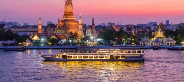 Crucero con cena por el río Chao Phraya