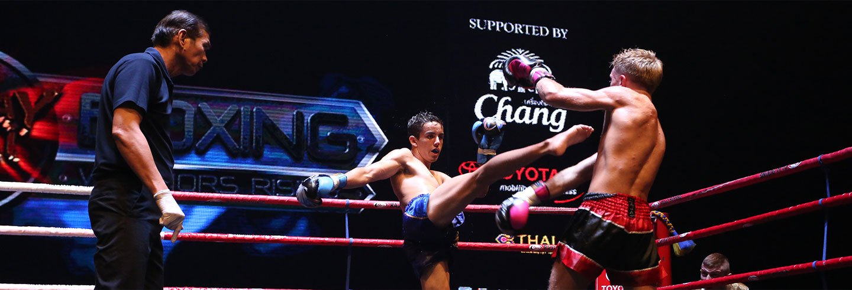 Espectáculo Muay Thai Live