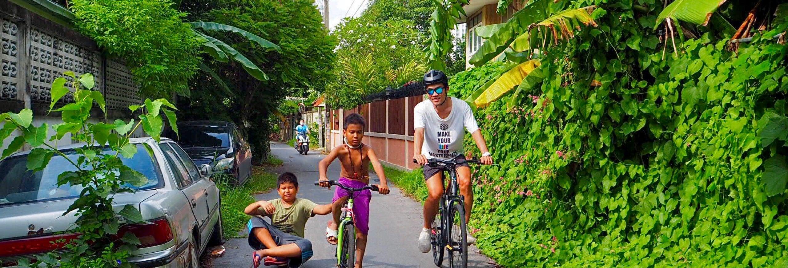 Tour de bicicleta por Bangkok