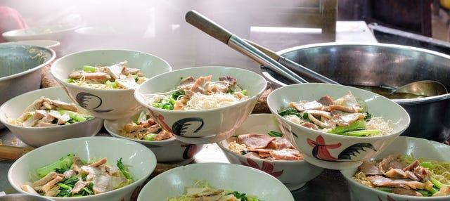 Tour gastronômico por Chinatown