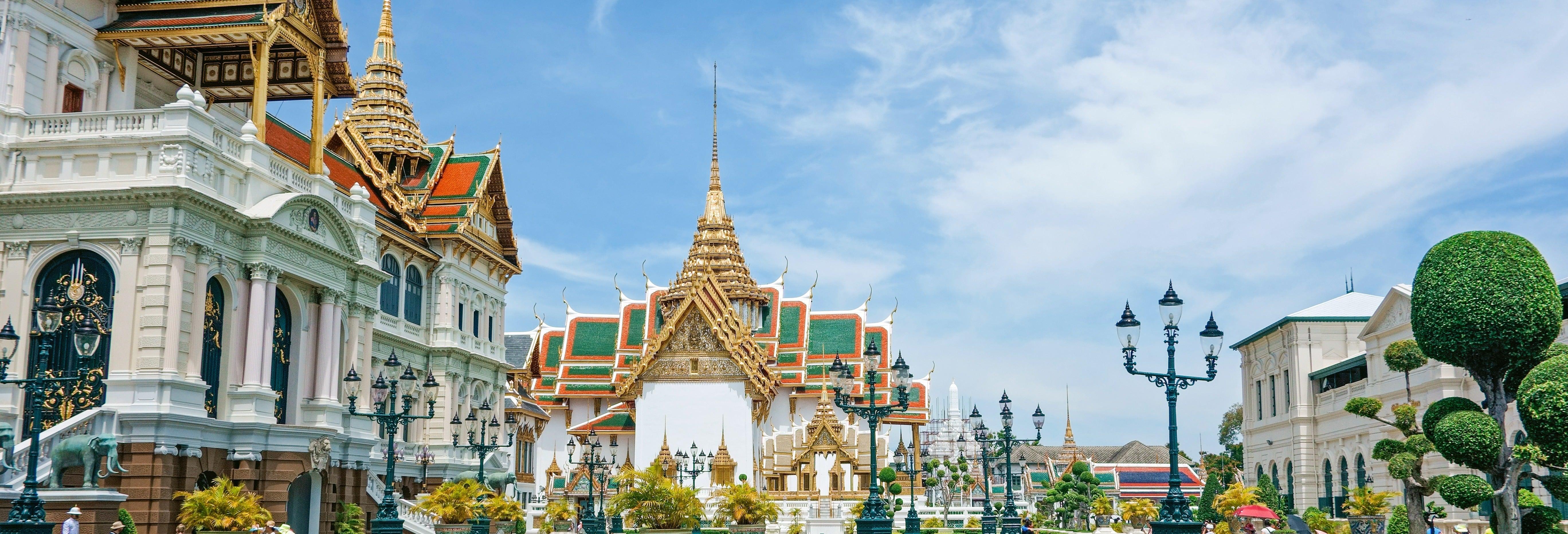 Tour pelo Grande Palácio de Bangkok