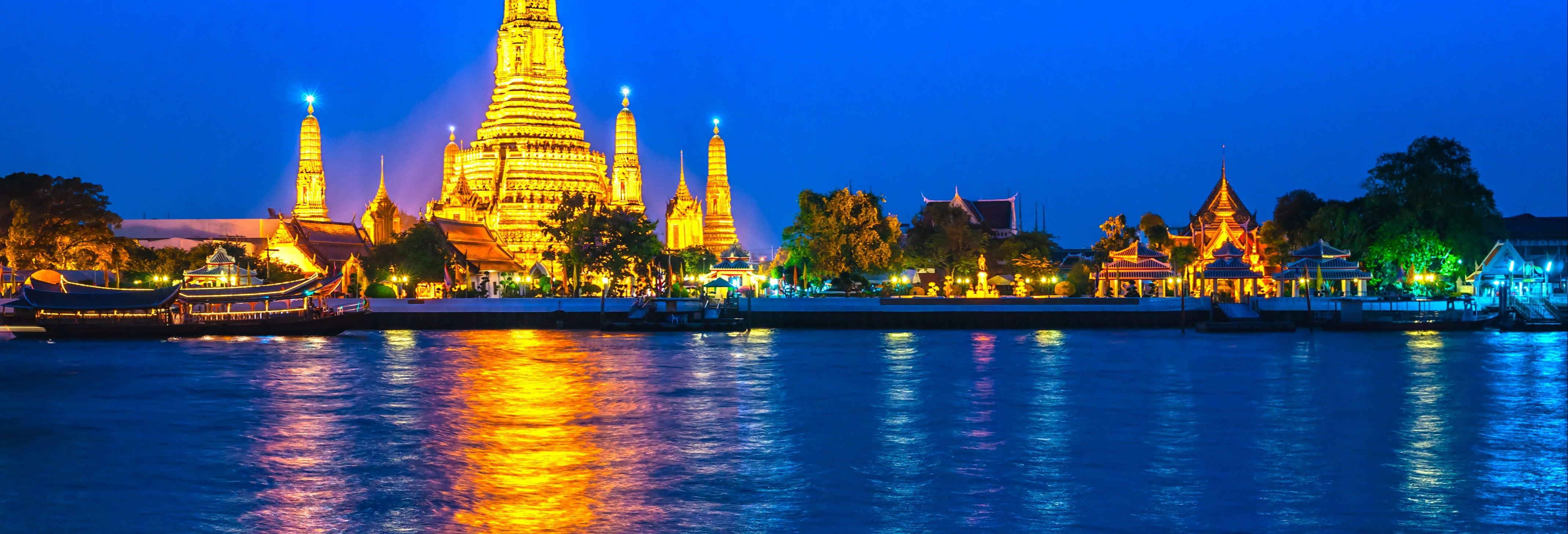 Visite de nuit dans Bangkok + Tour MahaNakhon