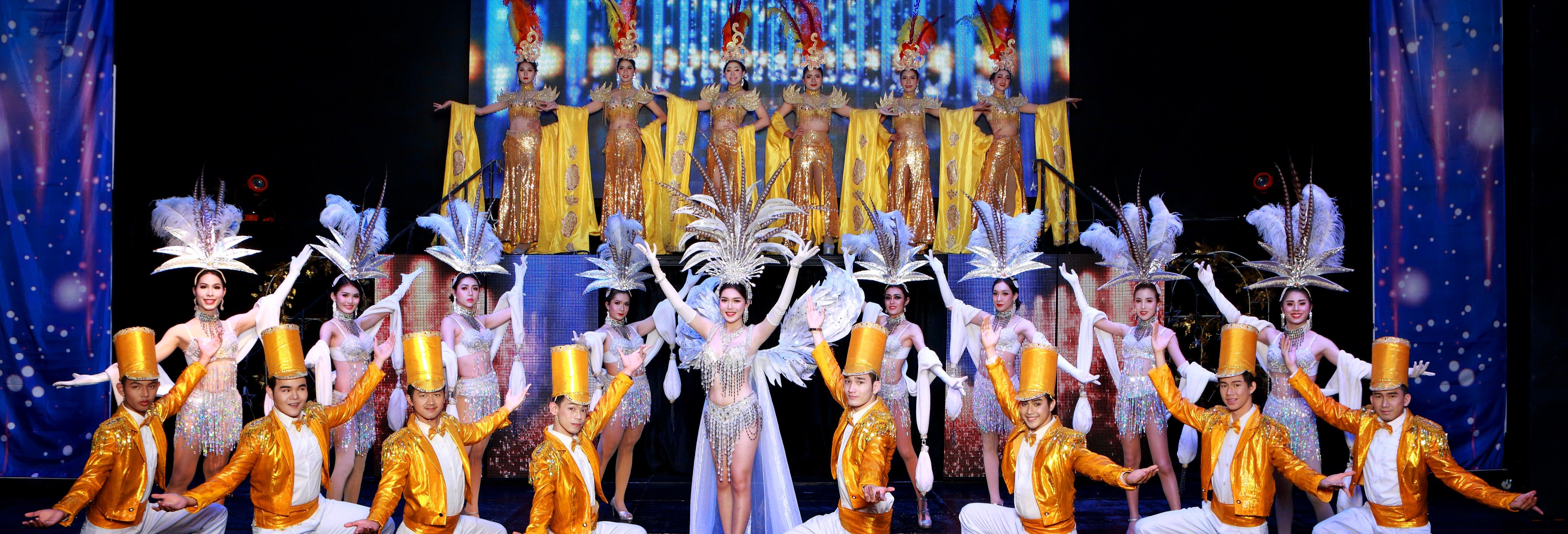 Spectacle de cabaret au Siam Dragon Show