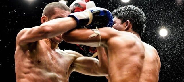 Velada de Muay Thai en Taphae Boxing Stadium