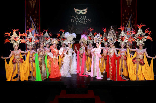 Performers of the Siam Dragon Show