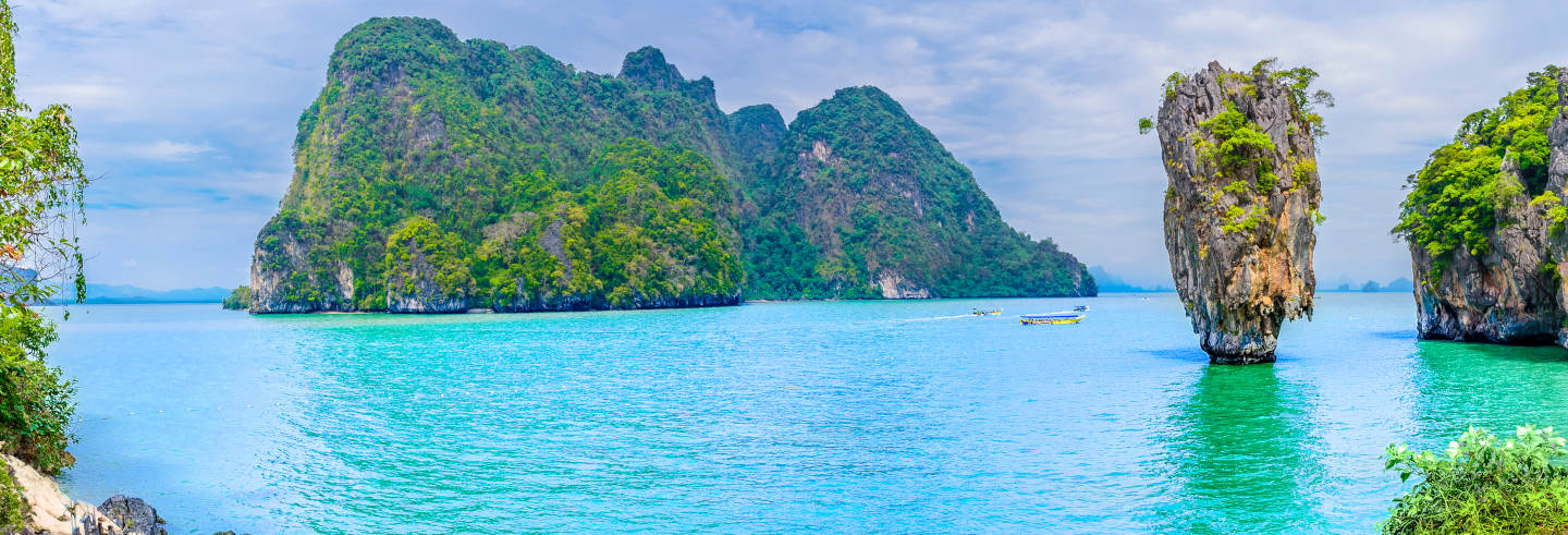 Excursion à l'île de James Bond en bateau