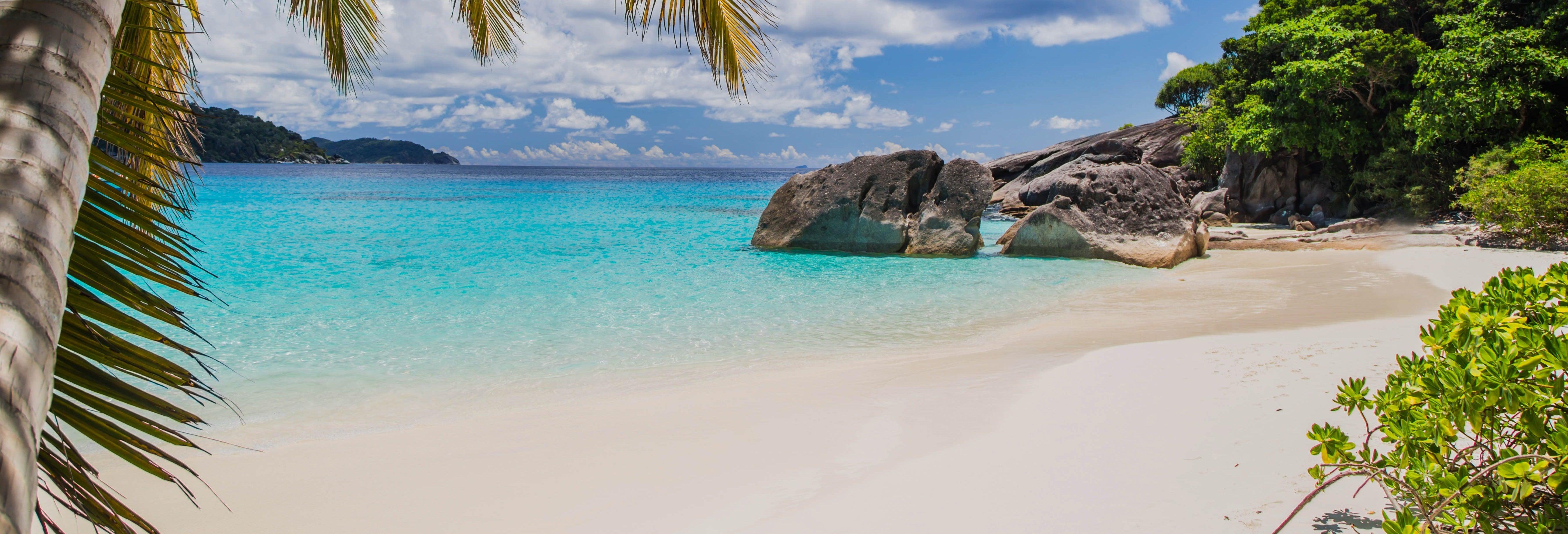 Excursão às ilhas Similan de lancha