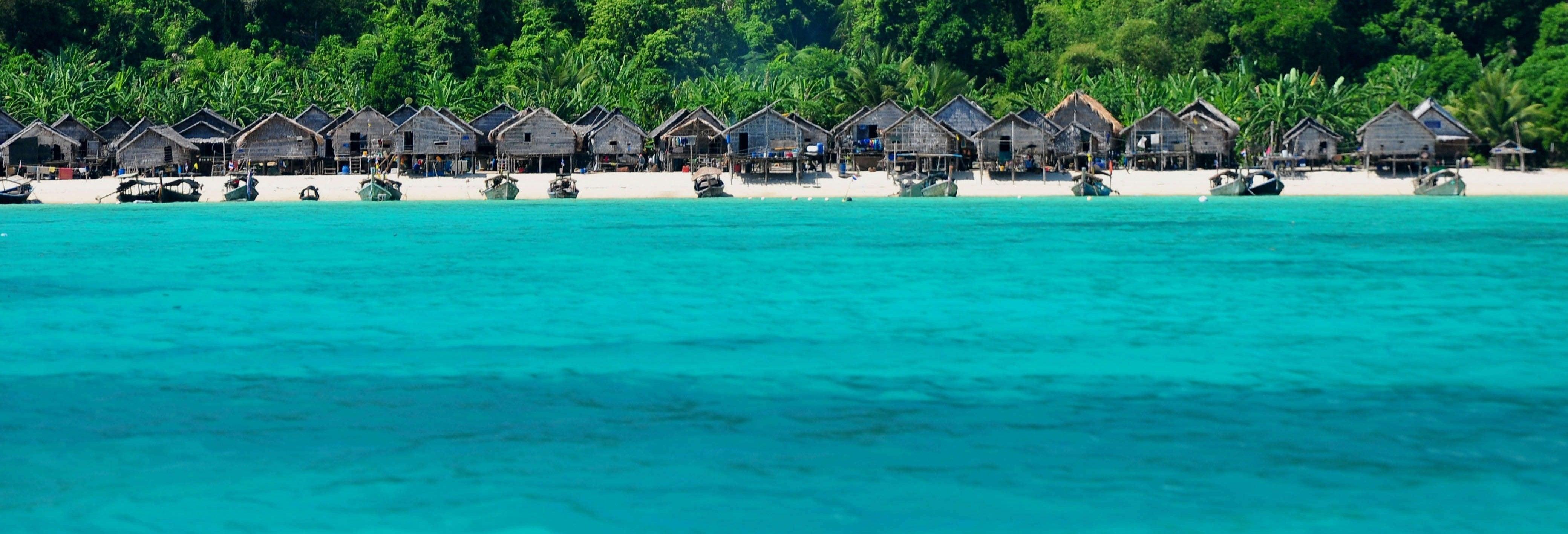 Excursão às ilhas Surin de lancha