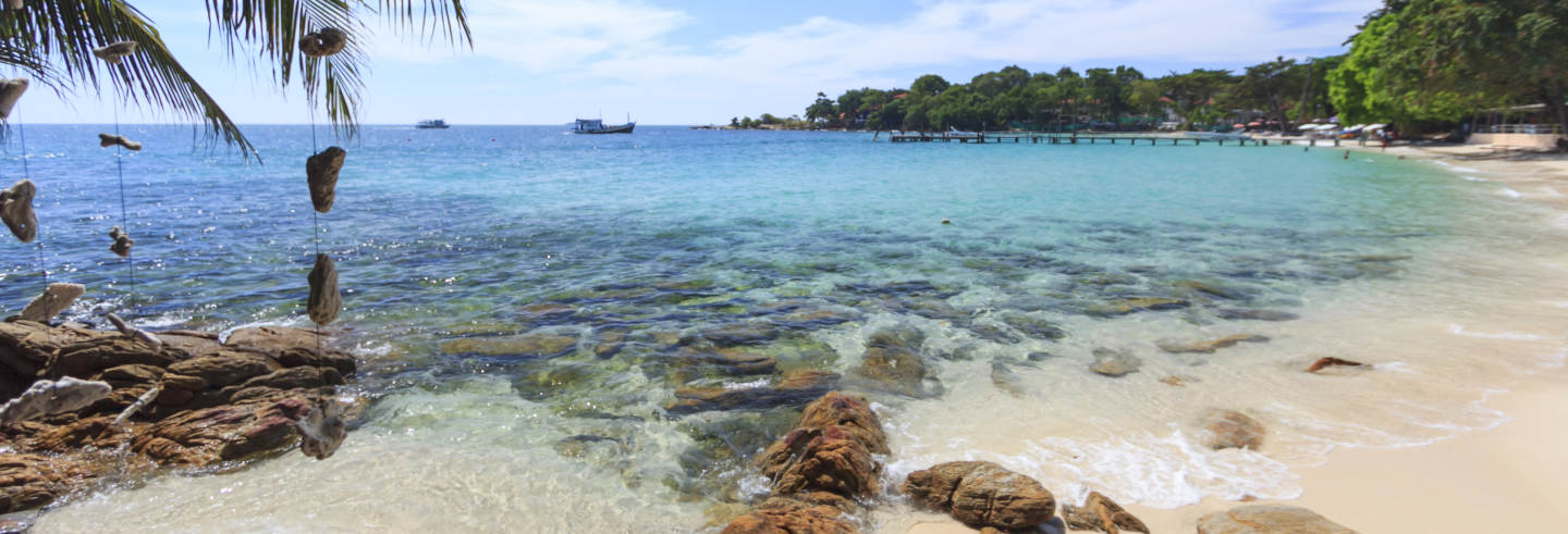 Tour en barco por las playas de Koh Samet