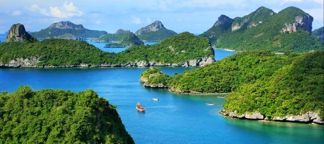 Excursión a Ang Thong en lancha rápida