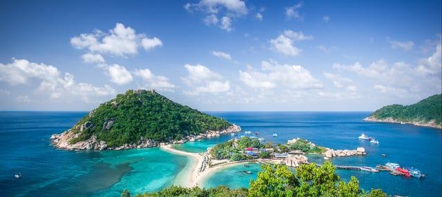 Excursión a Koh Nang Yuan en lancha rápida