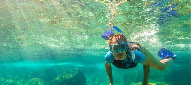 Giro in kayak e snorkeling nell'isola di Koh Samui