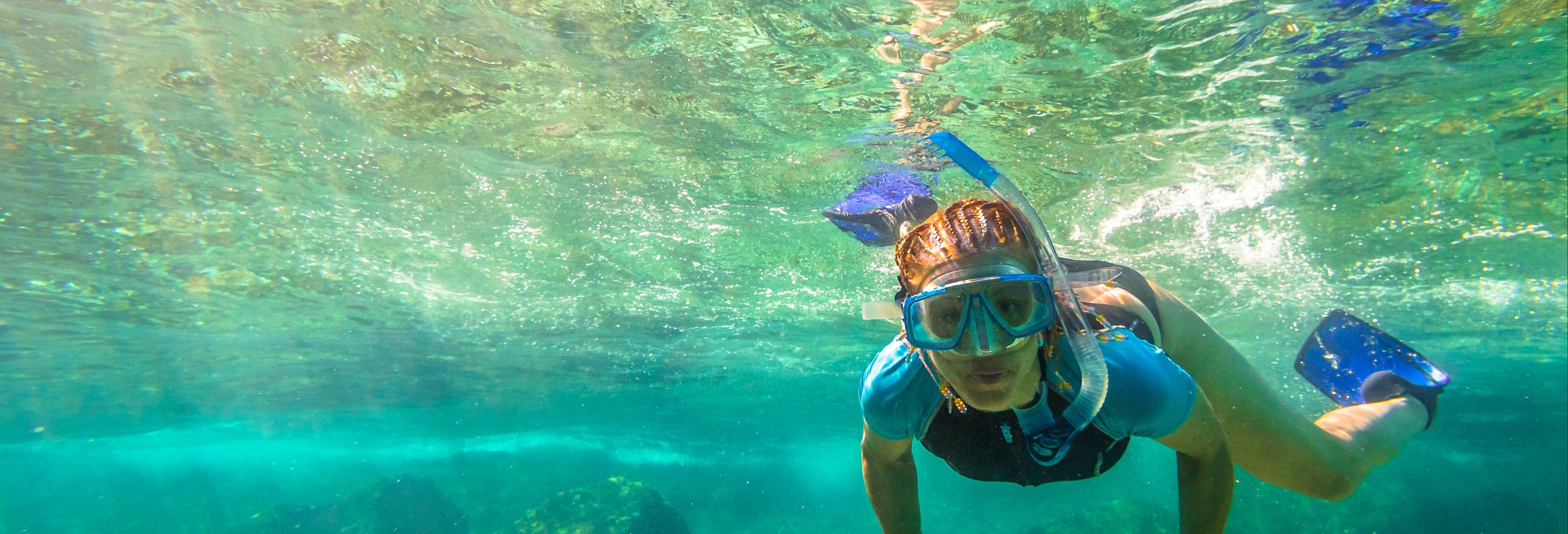 Snorkel e caiaque nas ilhas de Koh Samui