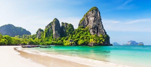 Excursión a las islas de Krabi y playa Railay