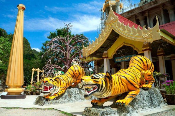 Exploring the Tiger Cave Temple