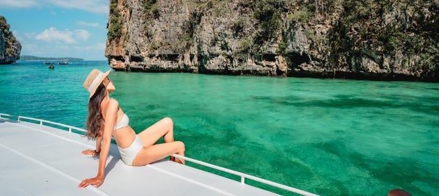 Excursión a la isla de James Bond, Koh Yao e isla Hong en barco