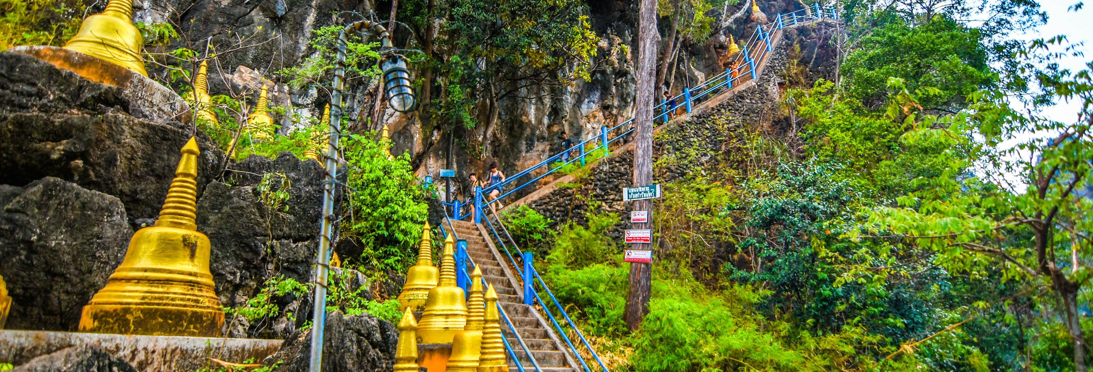 Templo do Tigre, Piscina Esmeralda e fontes termais