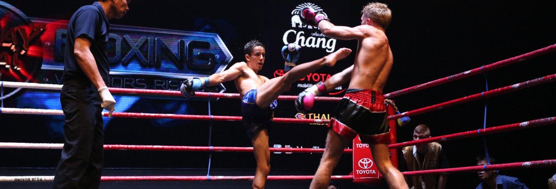 Espetáculo Muay Thai Live