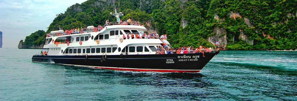 Passeio de barco pelas ilhas Phi Phi
