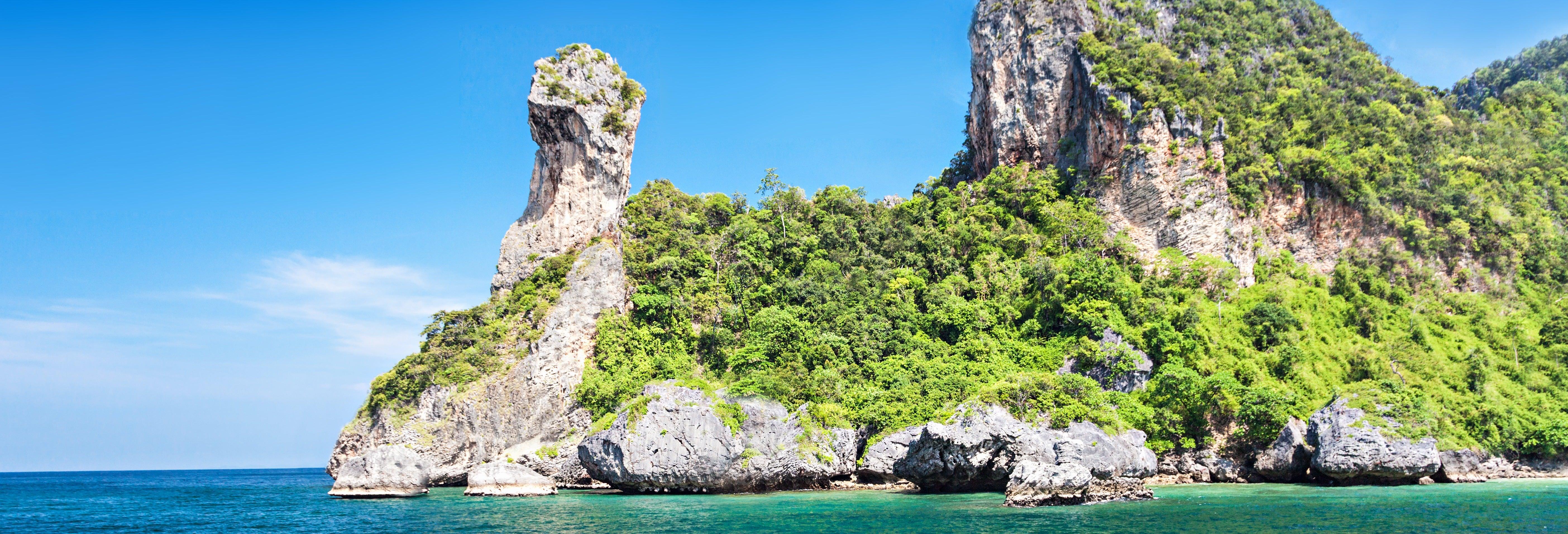 Excursión por las islas de Krabi + Snorkel